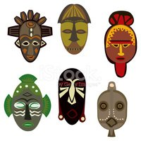 African cultural mask clipart banner freeuse stock African Cultural Masks stock vectors - Clipart.me banner freeuse stock