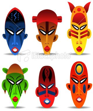 African cultural mask clipart clip free stock Collection of 14 free Africa clipart easy aztec clipart vintage ... clip free stock