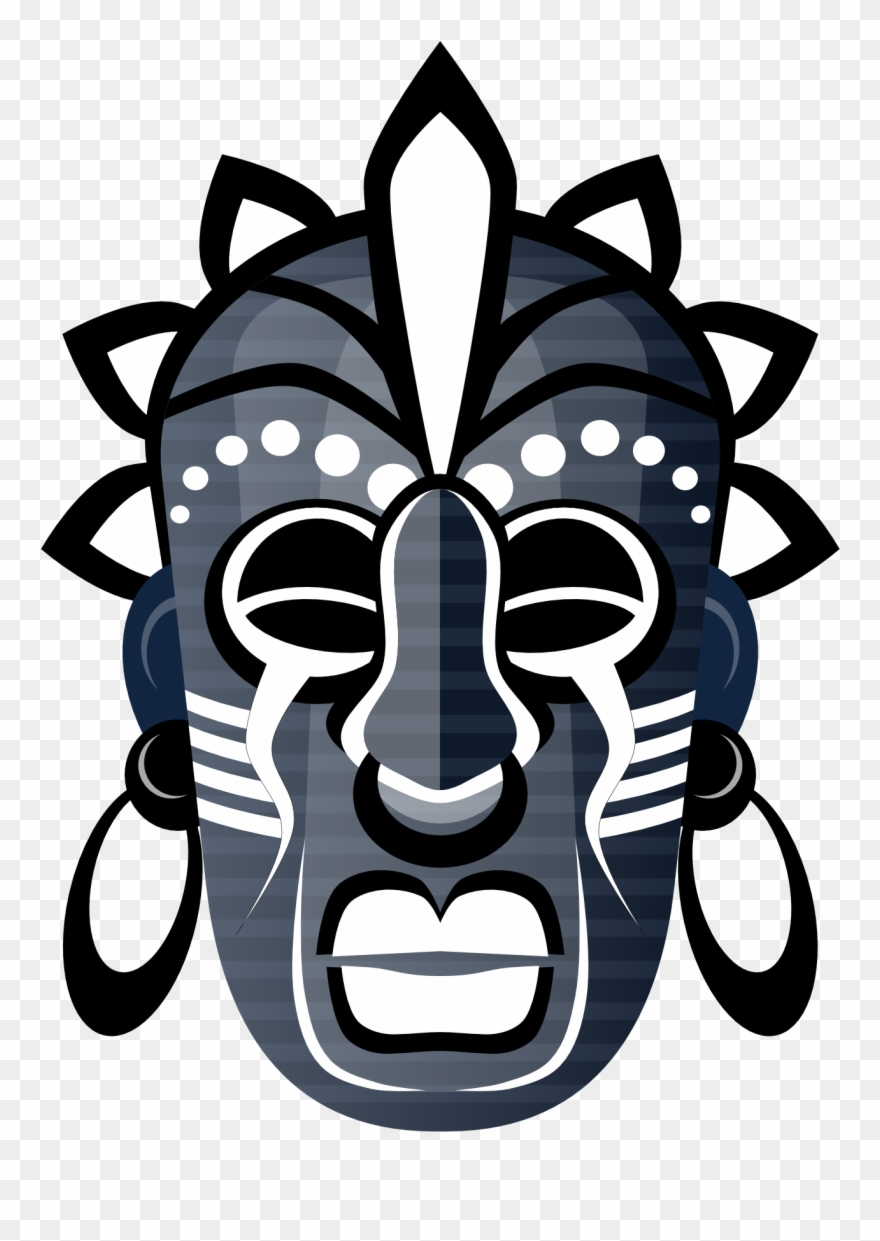 African cultural mask clipart image royalty free stock Abstract Tribal Mask 3 1969px 294 - African Tribal Masks Designs ... image royalty free stock