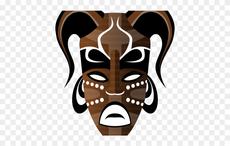 African cultural mask clipart picture library download Culture Clipart Face Mask - African Tribal Mask Png Transparent Png ... picture library download