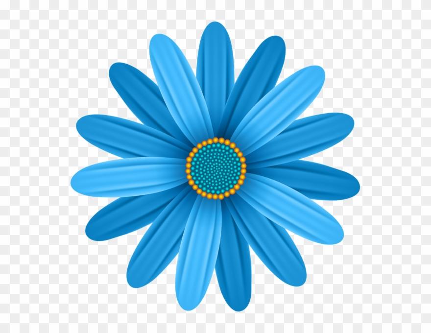 African flowers clipart graphic transparent library Blue Flower Transparent Png Clip Art Image - African Daisy (#440344 ... graphic transparent library