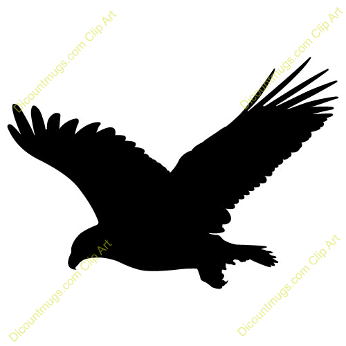 Eagle flying in clouds clipart black and white image free Flying Eagle Clipart | Free download best Flying Eagle Clipart on ... image free