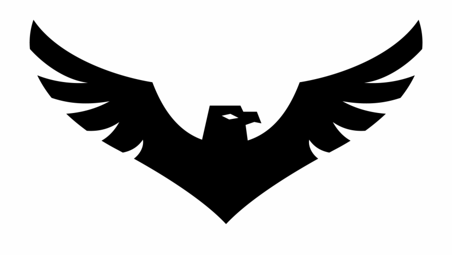 African eagle flying clipart image freeuse Clipart Png Eagle - Black Eagle Logo Png Free PNG Images & Clipart ... image freeuse