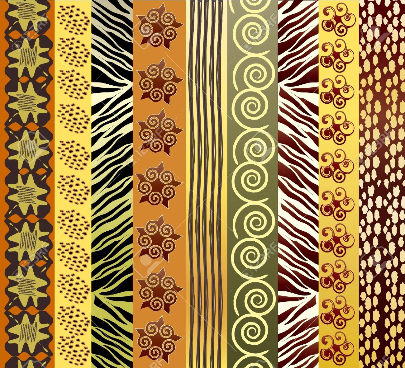 African fabric designs free clipart svg royalty free download African Pattern Cliparts, Stock Vector And Royalty Free African ... svg royalty free download