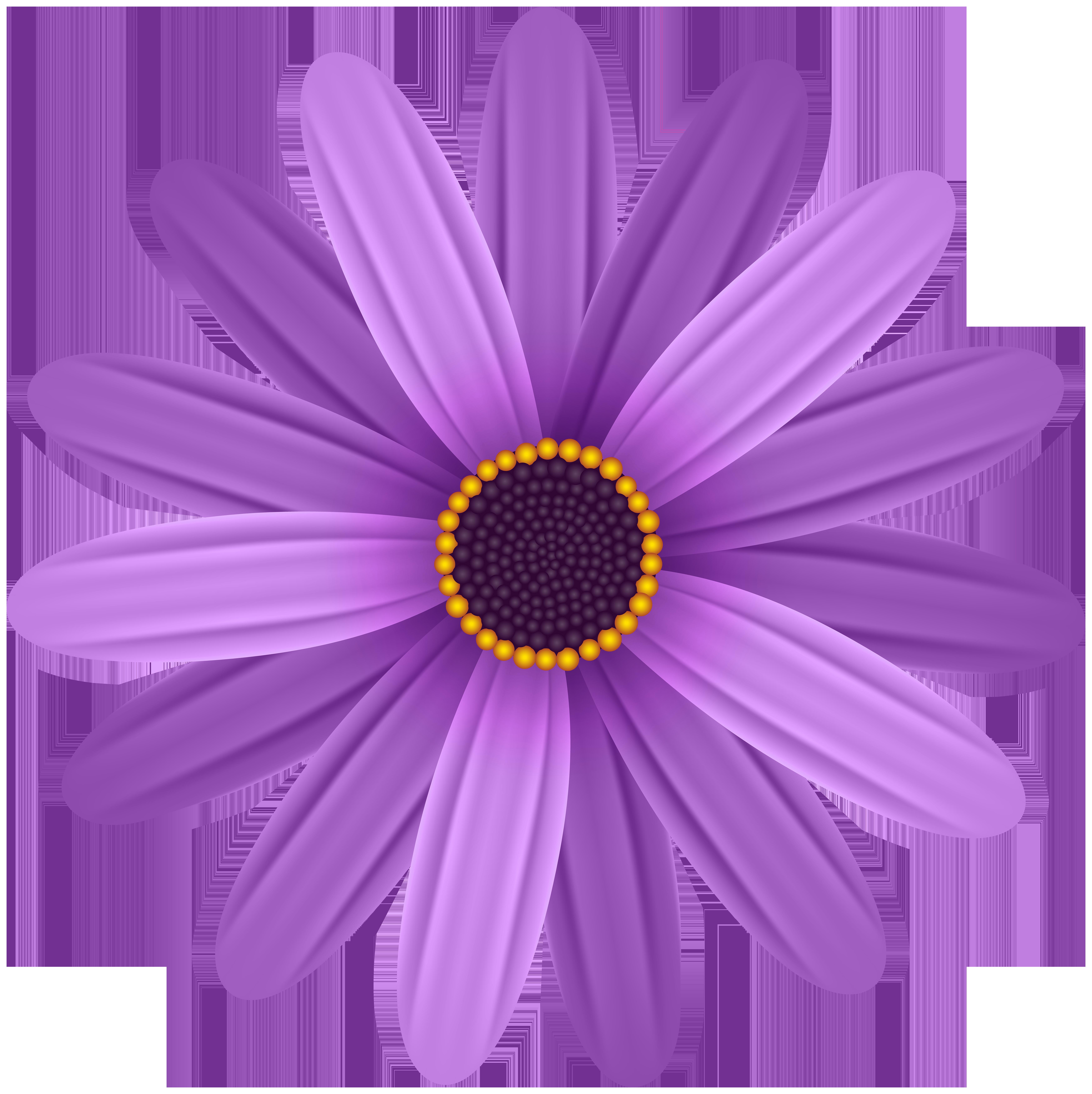 Purple clipart flower clip art download Purple Flower Transparent PNG Clip Art Image | Gallery Yopriceville ... clip art download