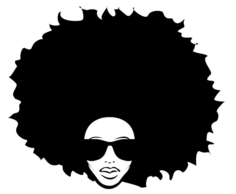 African girl sunglasses clipart png png royalty free download Afro-textured hair Black African American Big hair - afro png ... png royalty free download