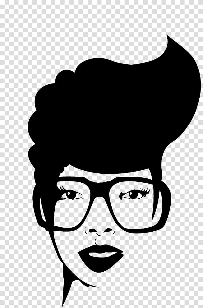 African american faces clipart image free download Afro-textured hair Black African American, Afro Puffs transparent ... image free download