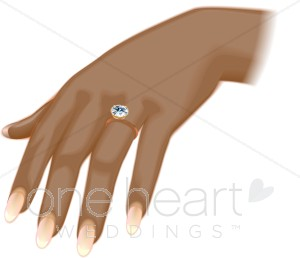 African hand clipart banner transparent download African American Bride Clipart | Wedding Ring Clipart banner transparent download