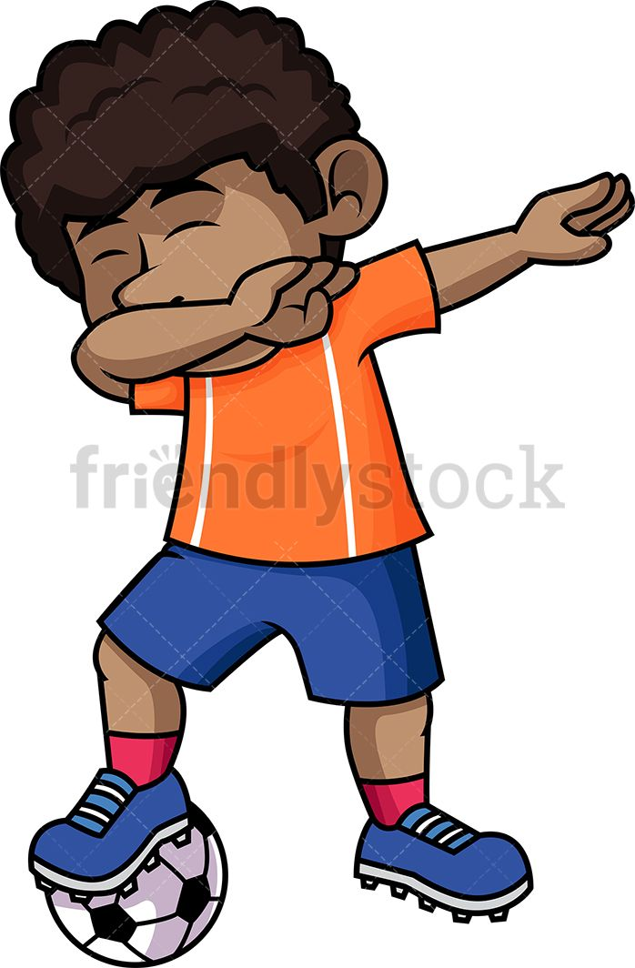 African hurting clipart svg library stock Black Soccer Boy Dabbing | Kids Clipart | Soccer boys, Kids vector ... svg library stock