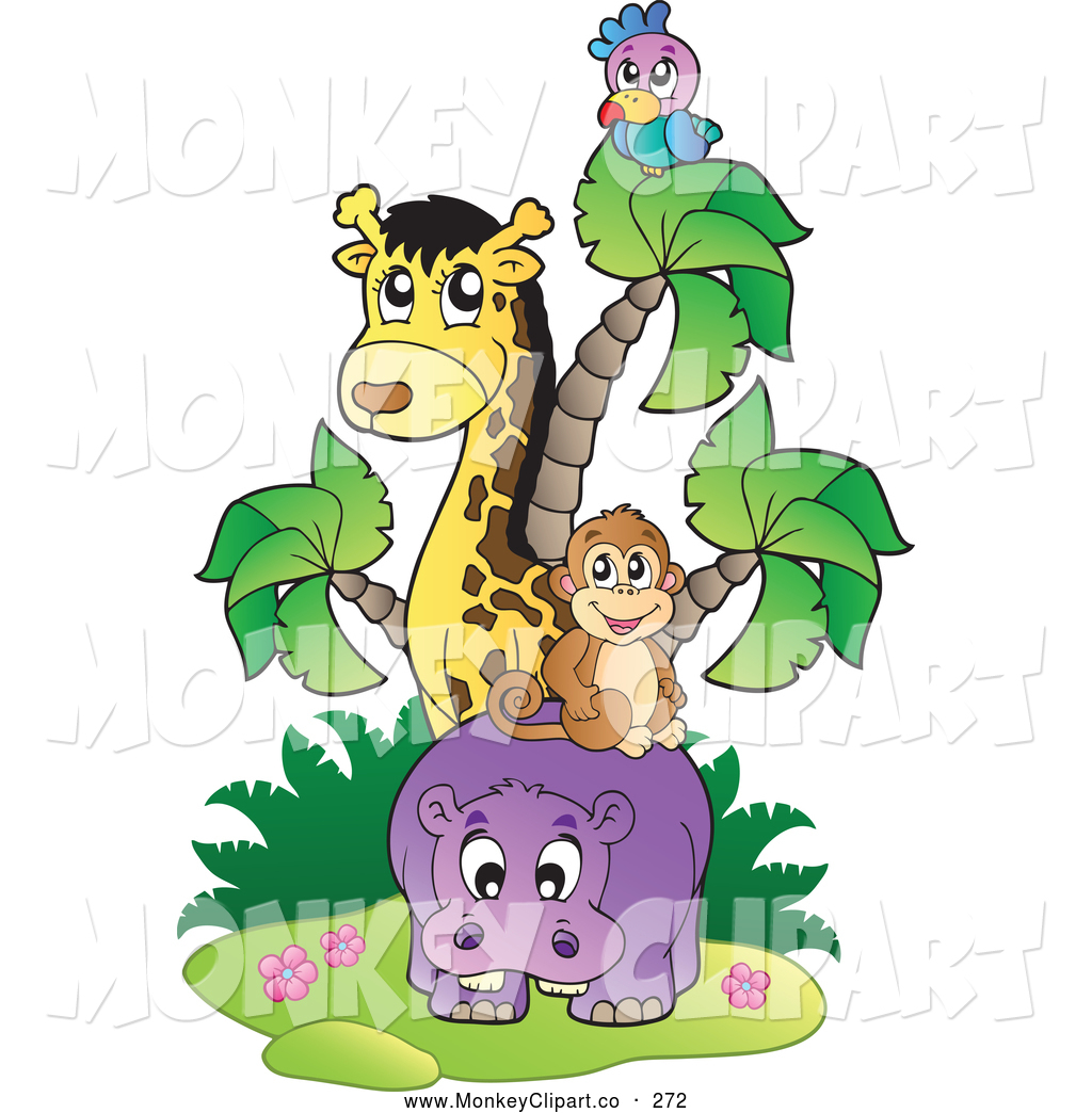 African jungle vine clipart jpg black and white stock Jungle Animals Clipart | Free download best Jungle Animals Clipart ... jpg black and white stock