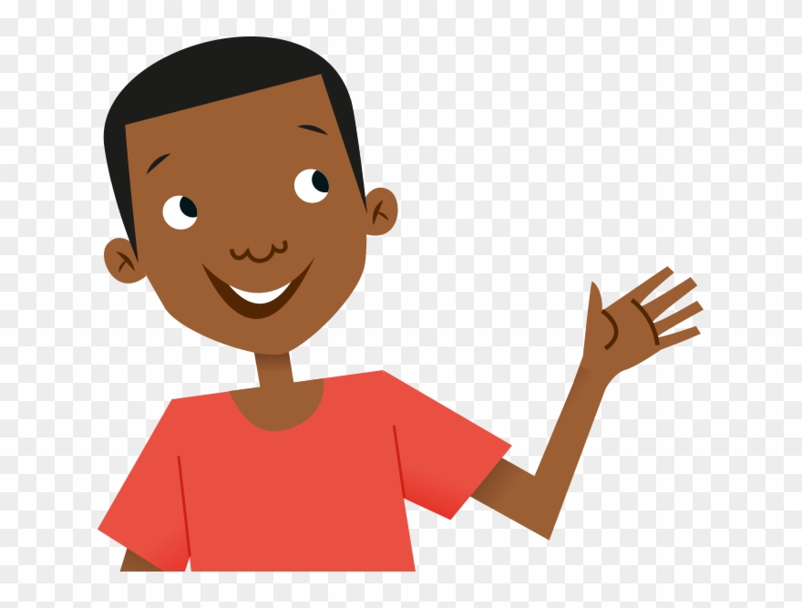 Hello clipart images black and white library Country Clipart African Child - Kid Waving Hello Clipart - Png ... black and white library