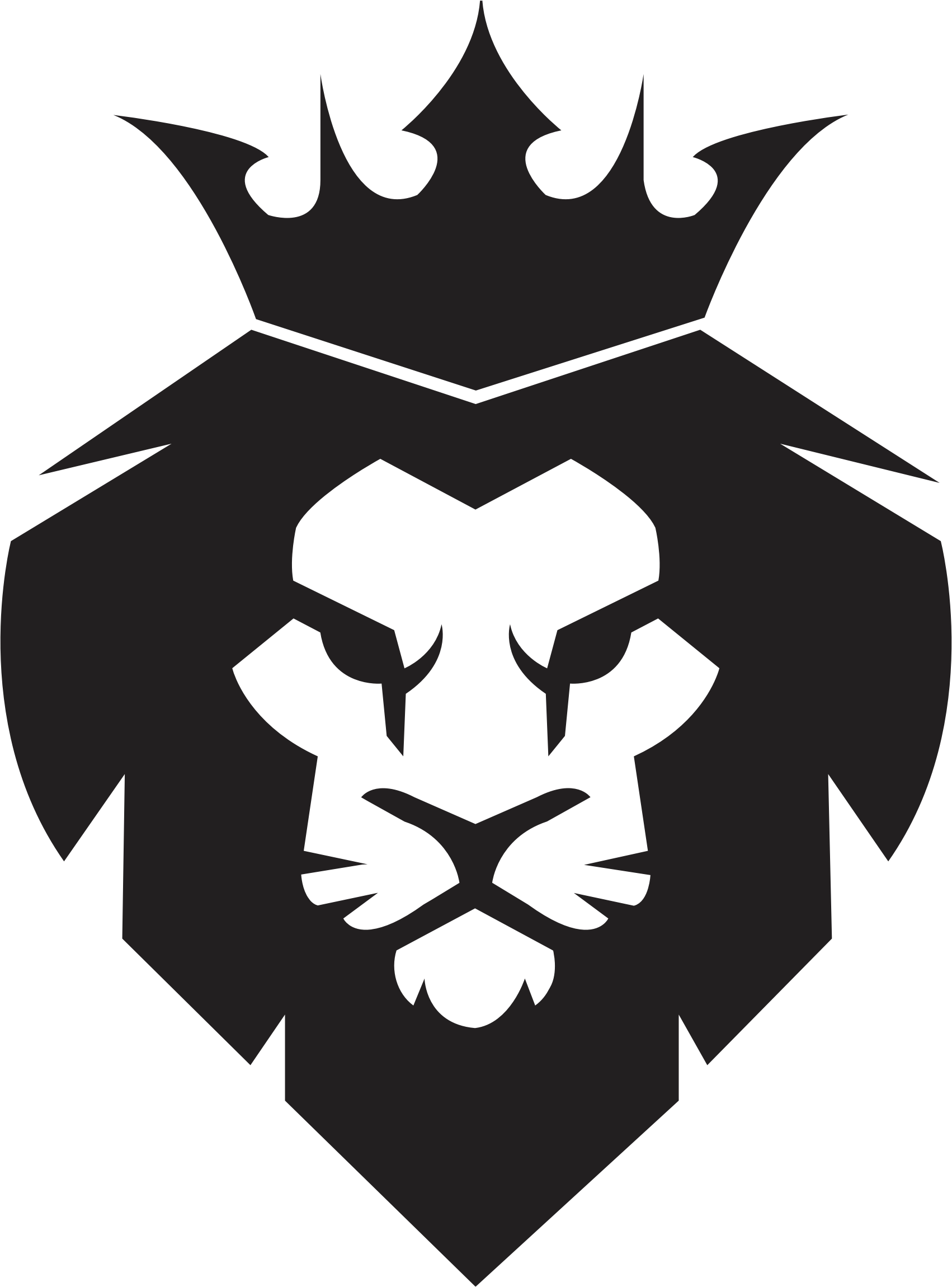 African king crown clipart vector royalty free download Clipart - Lion King vector royalty free download