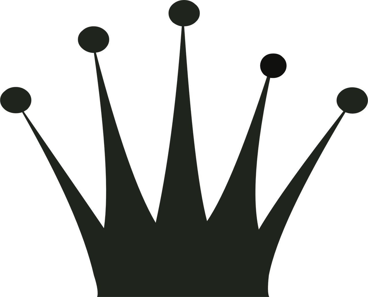 African king crown clipart svg freeuse stock Black Queen Crown Template | Free Printable Papercraft Templates svg freeuse stock