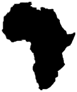African land clipart picture royalty free library Africa Silhouette Clip Art | Just Dandy Boutique | Africa tattoos ... picture royalty free library