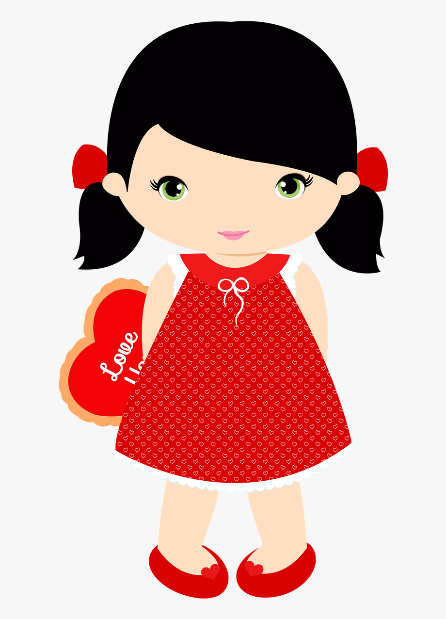 Little girl free clipart vector download Http Moniquestrella Minus Com - Little Girl Clipart Black Hair ... vector download
