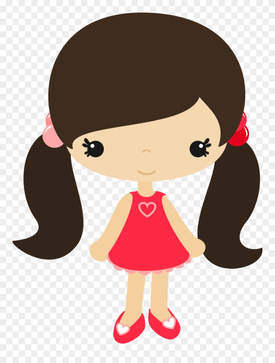 African little girl with bows in hair cartoon clipart clip art black and white stock Cartoon Girl Clip Art - Little Girl Clipart - Png Download (#4064702 ... clip art black and white stock