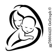 Black Mother Daughter Clip Art - Royalty Free - GoGraph clip art library stock