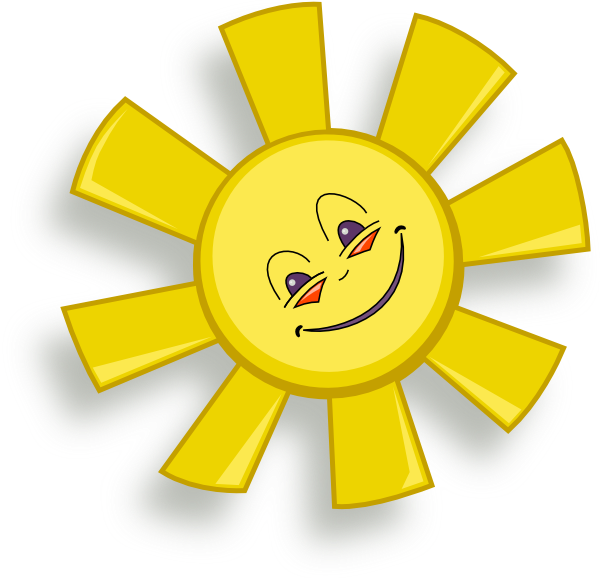 Big sun clipart png transparent Happy Sun Clip Art at Clker.com - vector clip art online, royalty ... png transparent