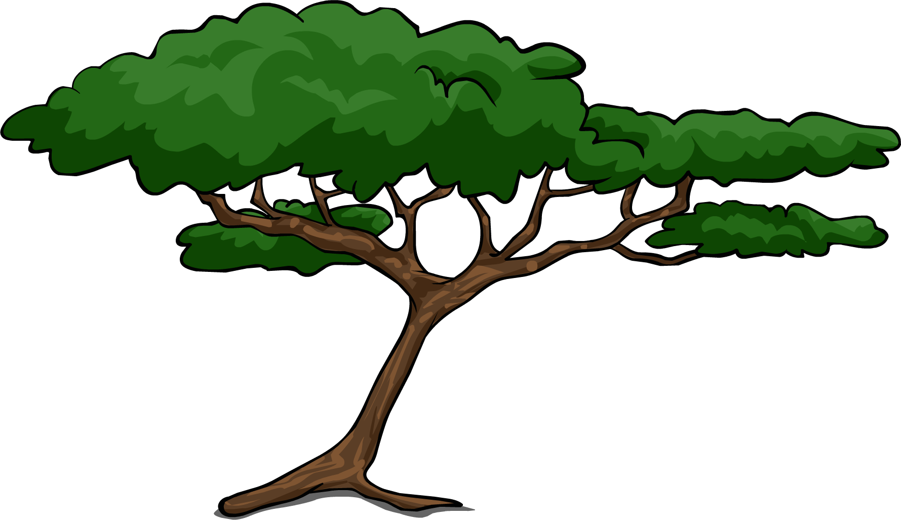 African tree clipart picture free 28+ Collection of Acacia Clipart | High quality, free cliparts ... picture free
