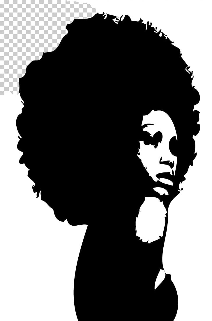 Black and white clipart of african american women clip art black and white stock Silhouette Black African American Female PNG, Clipart, African ... clip art black and white stock