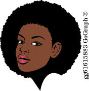 Afro american woman clipart banner Afro Clip Art - Royalty Free - GoGraph banner
