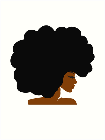 Black woman with afro clipart picture library library Woman Cartoon clipart - Black, Woman, Hair, transparent clip art picture library library