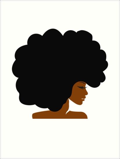 Afro woman hair clipart clip Woman Cartoon clipart - Black, Woman, Hair, transparent clip art clip