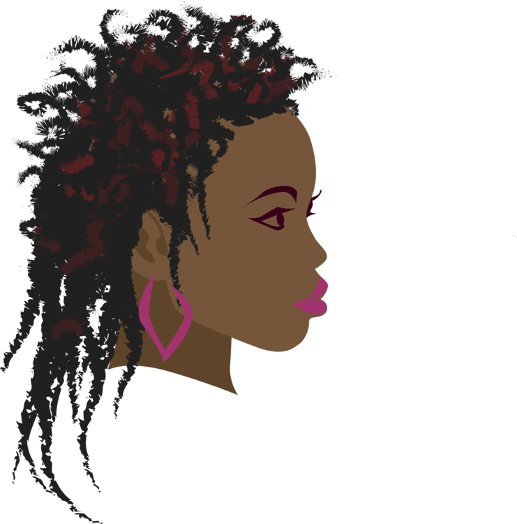 Afro hair in crown woman clipart clip free download Braid Africa Black Girl Computer Icons free commercial clipart ... clip free download