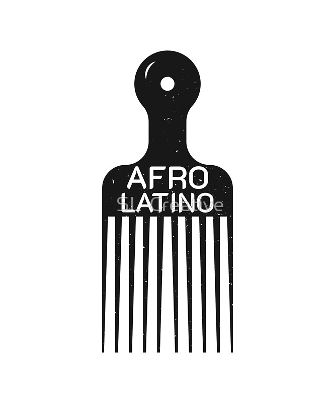 Afro latino clipart clip art library library Afro Latino Shirt | Art Print clip art library library