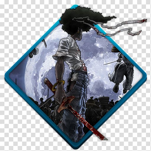Afro samurai clipart jpg freeuse Samurai illustration, technology, Afro samurai transparent ... jpg freeuse