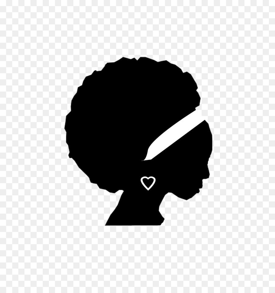 Afro silhouette clipart image transparent stock Woman Cartoon clipart - Black, Silhouette, Woman, transparent clip art image transparent stock