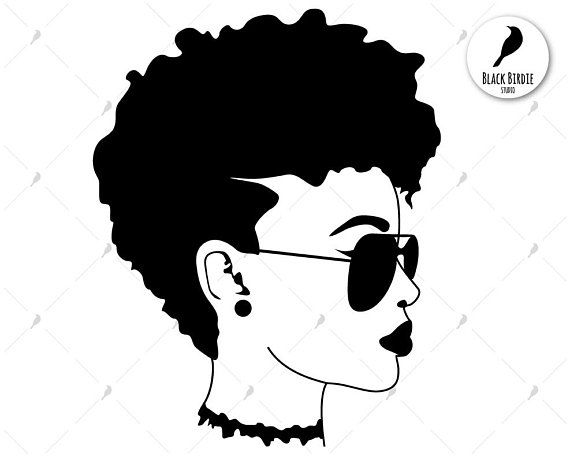 Afro silhouette clipart svg royalty free Afro clipart glass svg - 36 transparent clip arts, images and ... svg royalty free