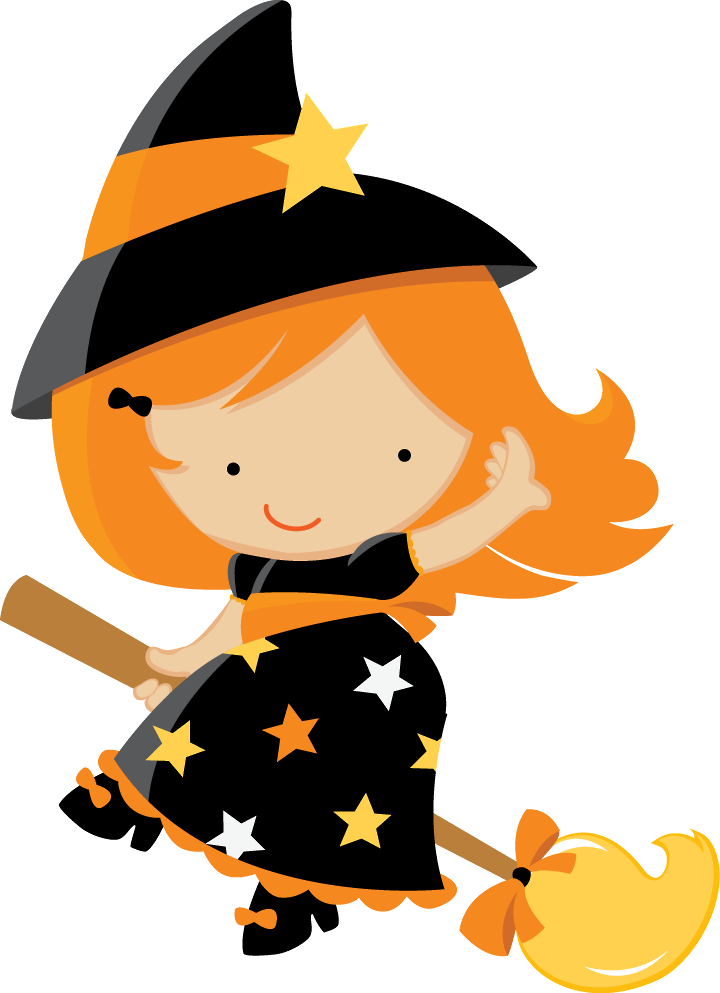 Happy halloween clipart black and white jpg freeuse HALLOWEEN BABY WITCH CLIP ART | Halloween | Pinterest | Clip art ... jpg freeuse