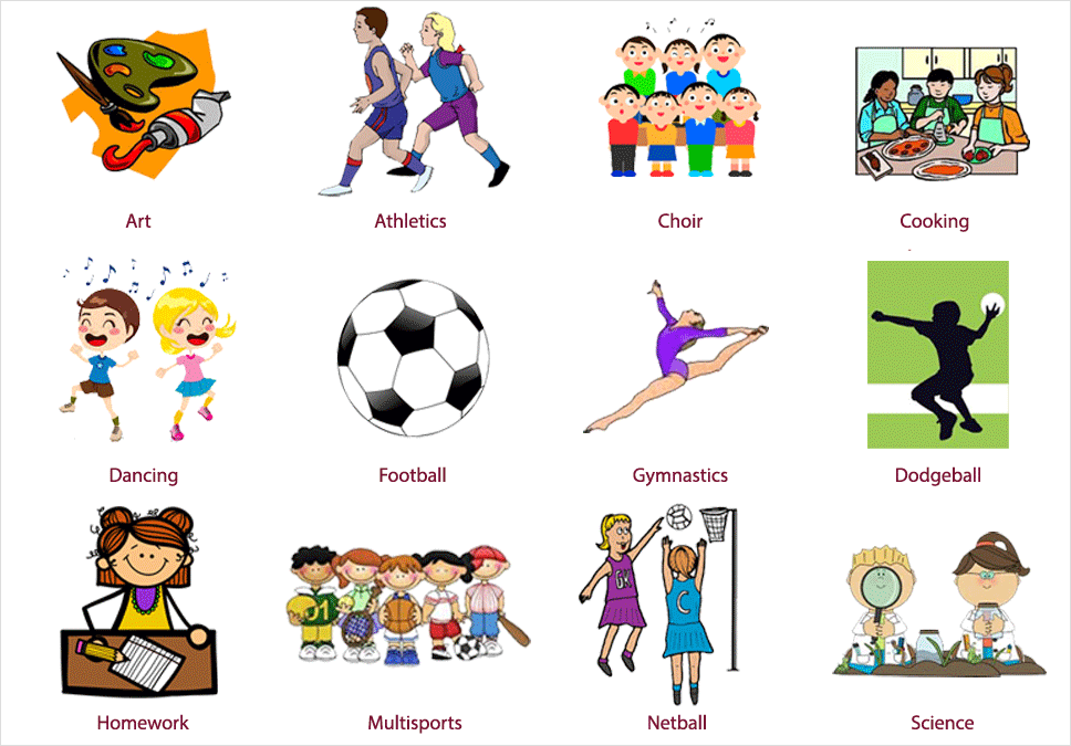 School club clipart banner freeuse School Clubs | Chancel Primary School banner freeuse