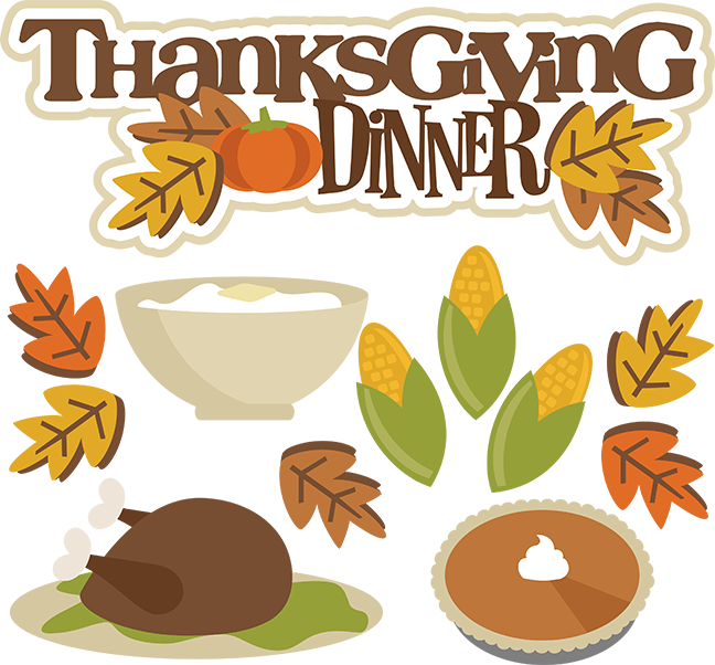 Thanksgiving food clipart free clip transparent Thanksgiving Dinner SVG turkey svg thanksgiving svgs svg files for ... clip transparent