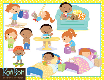 After you clipart clip art free download After School (Afternoon Routine) Clip Art clip art free download