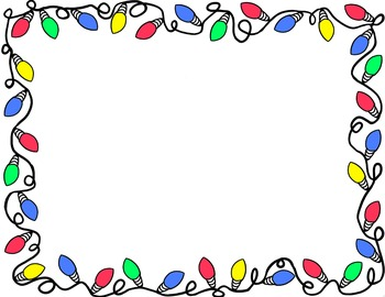 Christmas lights border clipart black and white png royalty free stock Free Holiday Borders Cliparts, Download Free Clip Art, Free Clip Art ... png royalty free stock