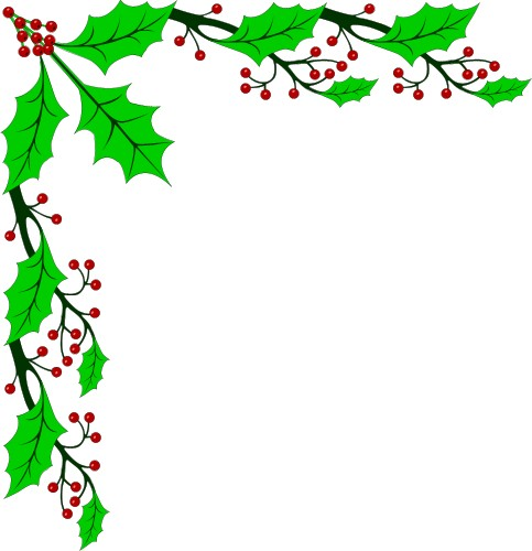 Holiday free clipart images vector black and white stock Free Holiday Cliparts Border, Download Free Clip Art, Free Clip Art ... vector black and white stock