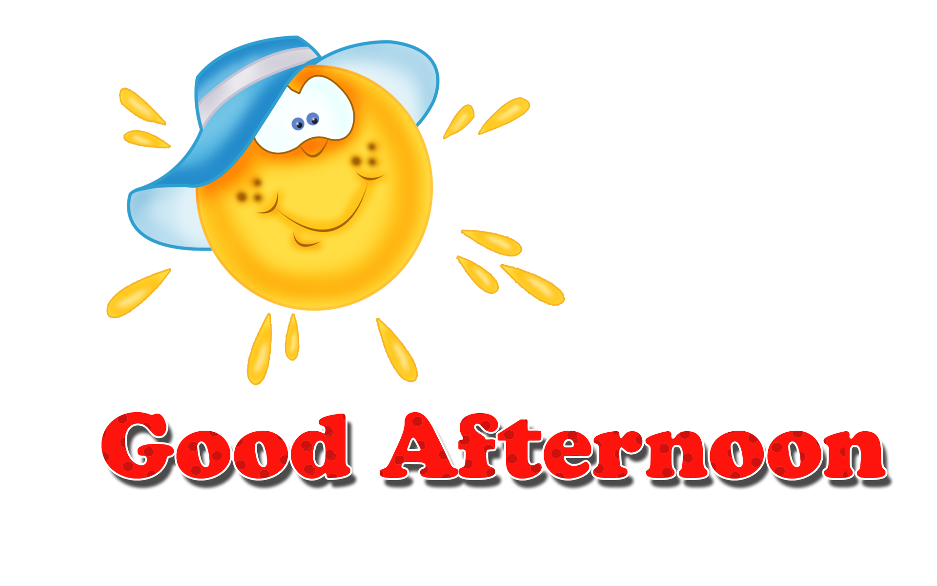 Afternoon clipart free clip art black and white Download Free png Good Afternoon PNG Clipart   PNG Names - DLPNG.com clip art black and white