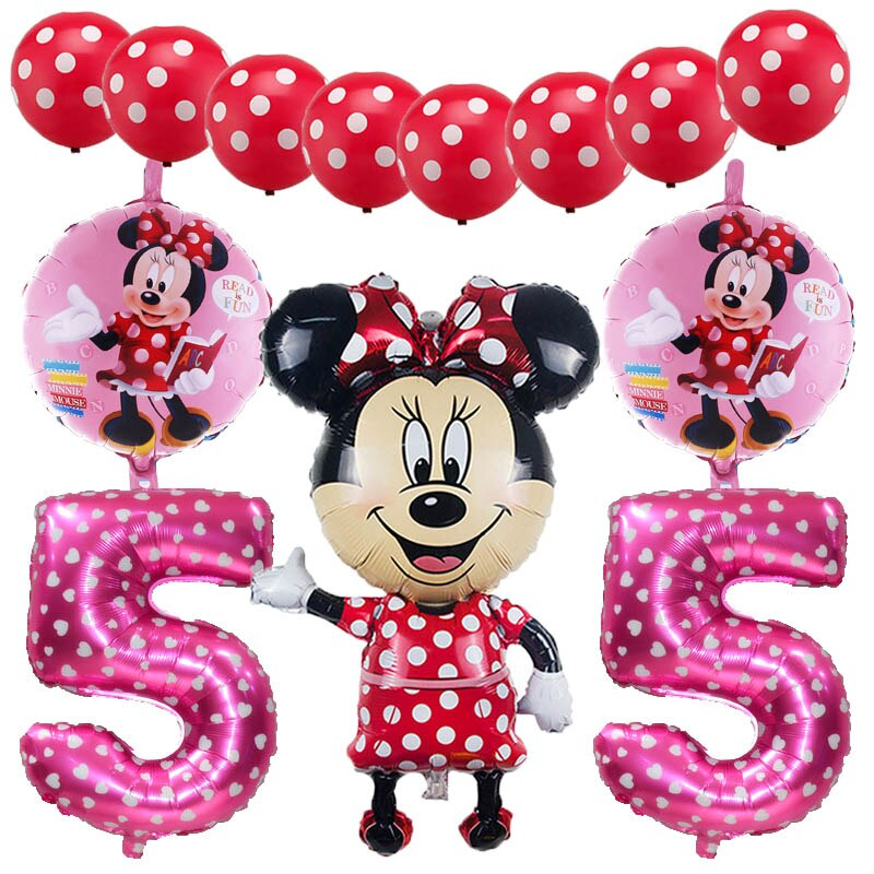 Age 6 birthday balloon clipart clip art royalty free download US $9.22 |Mickey Minnie birthday birthday theme foil balloons 13 pcs/set 1  to 6 age kid\'s Birthday Party Decorations ballons supplies-in Ballons & ... clip art royalty free download