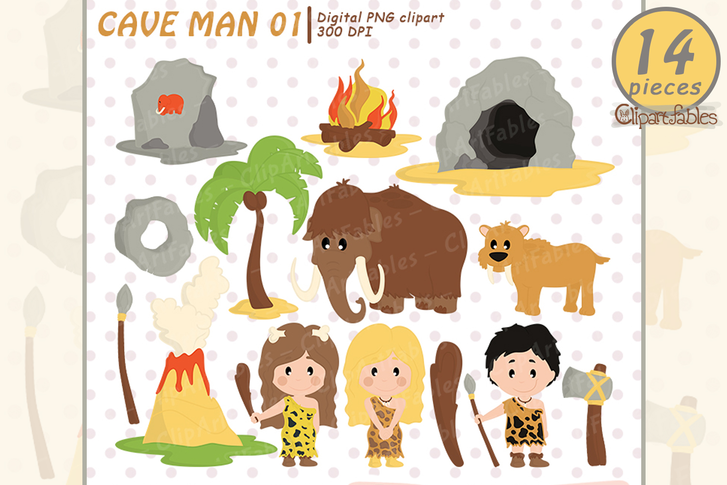 Age graphics clipart svg stock Ice age, Caveman clipart, Stone age - instant download svg stock