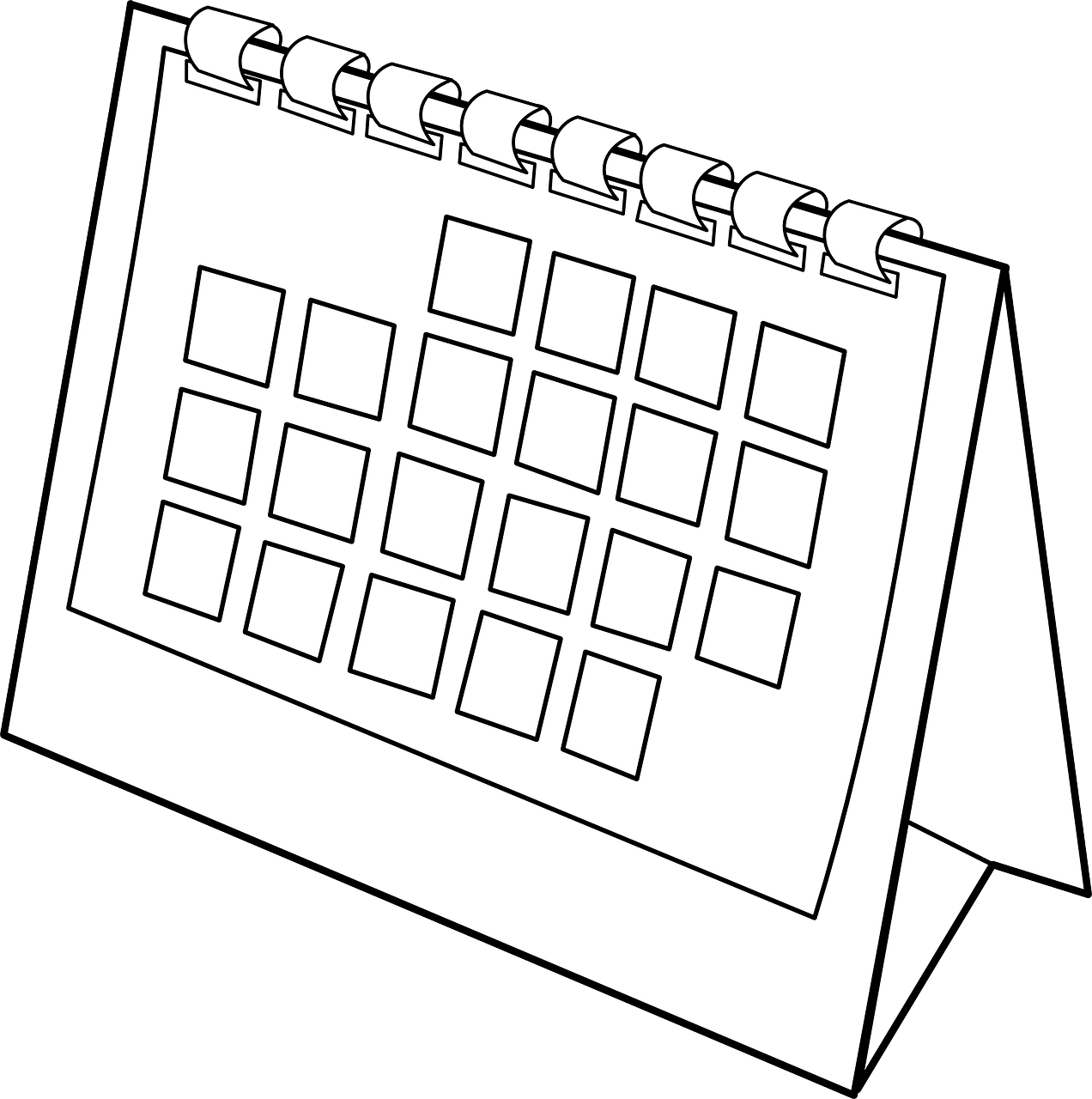 Agenda book clipart banner black and white Directory /images/clip-art banner black and white