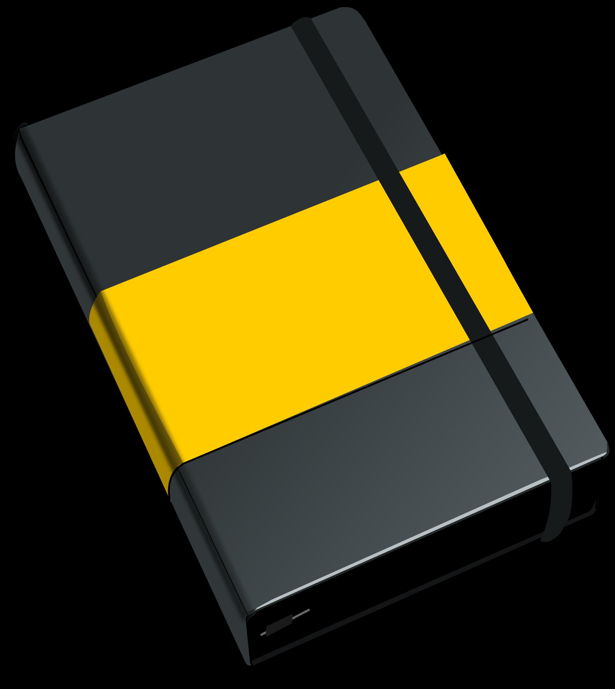 Agenda book clipart clipart free stock Clipart - Moleskine clipart free stock