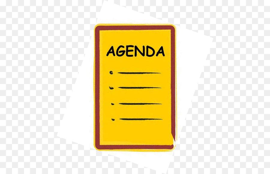 Agenda clipart transparent