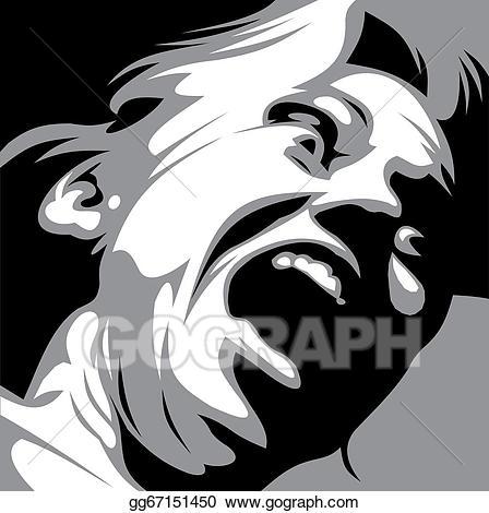 Aggressive woman clipart image transparent stock EPS Illustration - Aggressive woman. Vector Clipart gg67151450 - GoGraph image transparent stock