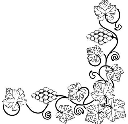 Agrape vines q clipart black and white picture stock Free Vine Illustration, Download Free Clip Art, Free Clip Art on ... picture stock