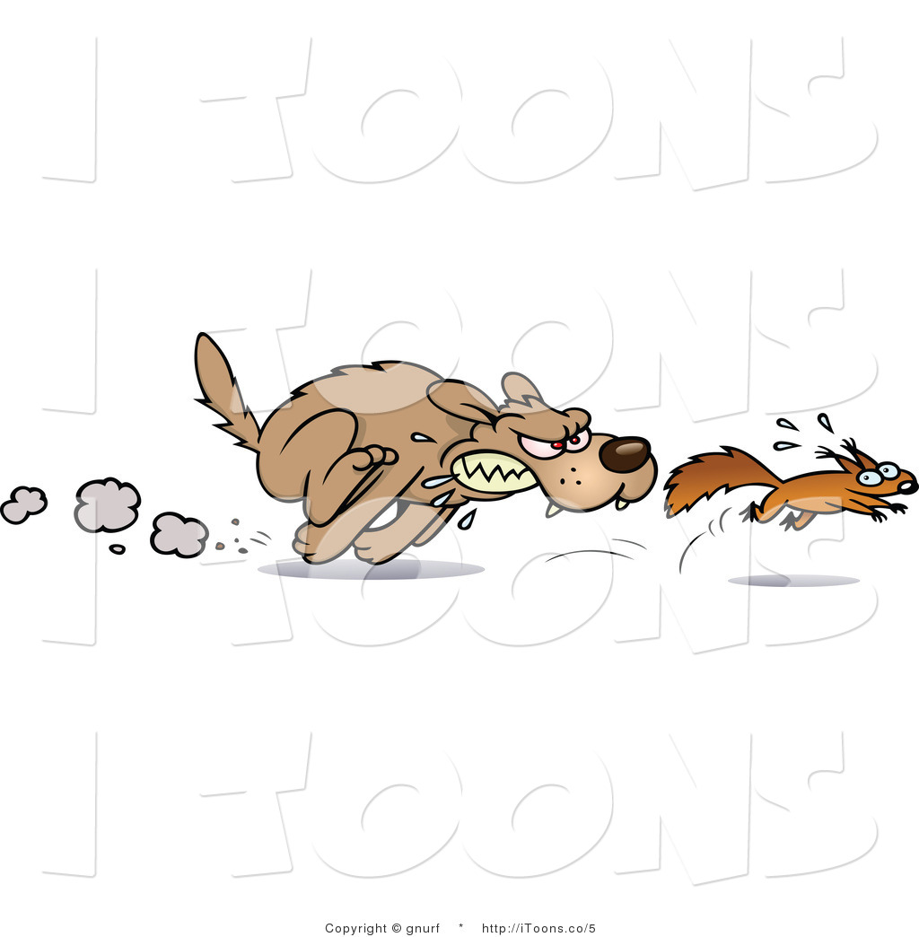 Agree dog chase black and white clipart - ClipartFest svg stock