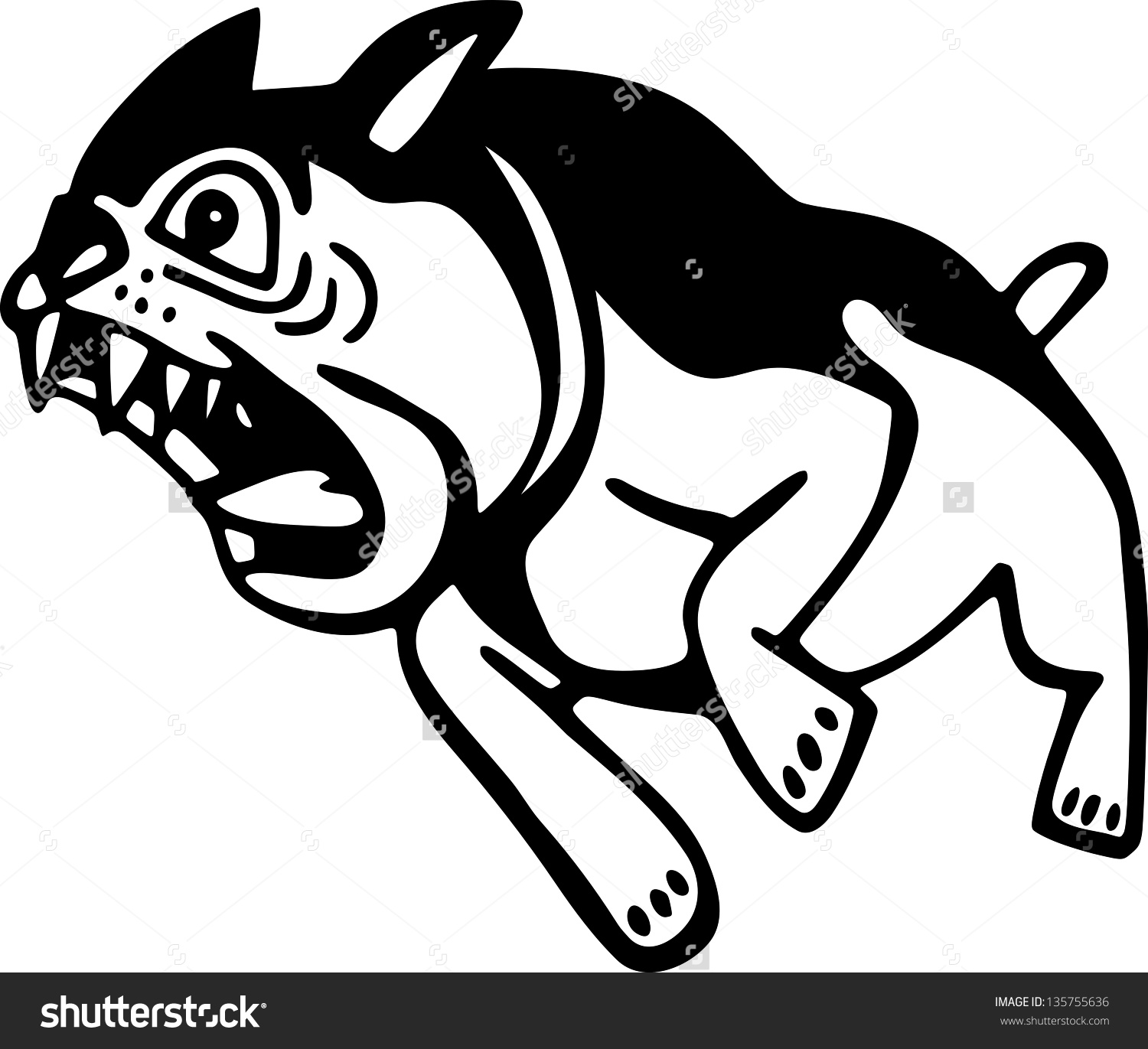 Dog Graphics Black And White | Funny Cat & Dog Pictures vector royalty free library
