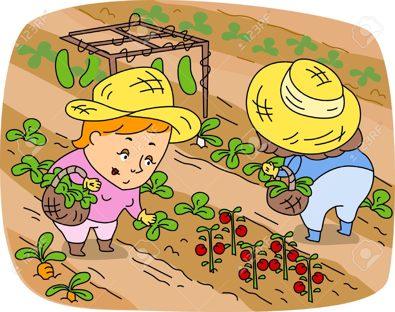 Free clipart farmers banner library stock Agriculture farming clipart 5 » Clipart Station banner library stock