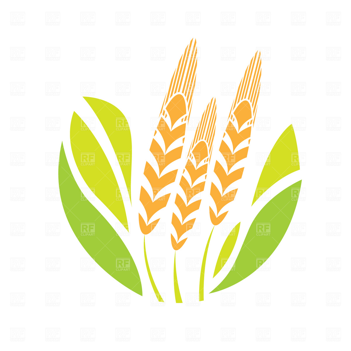 Agriculture logos clipart